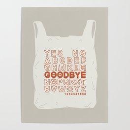 Plastic Bag Ouija Board Poster