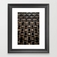 Weave DPPA161015a Framed Art Print