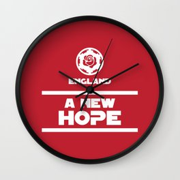 England Rugby - A New Hope Wall Clock