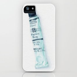 Payne's Gray iPhone Case