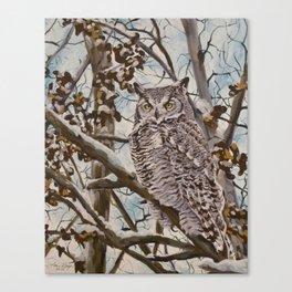 Sam's Great Horned Owl Canvas Print