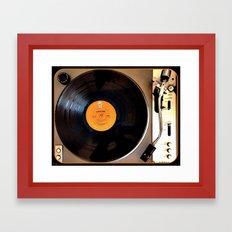 Vintage Pioneer Turntable Framed Art Print