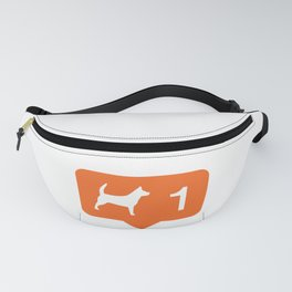 1 like dogs! Fanny Pack