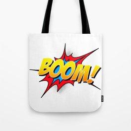 Boom!! Tote Bag