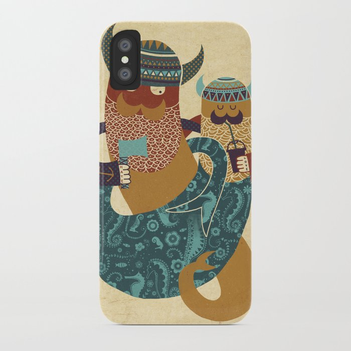 The Bearded Men of the Sea iPhone Case