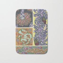 Vintage art deco pattern Bath Mat