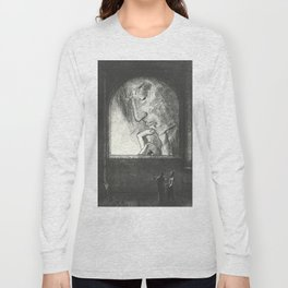 "Odilon Redon ""Light (Lumière)"" Long Sleeve T-shirt"