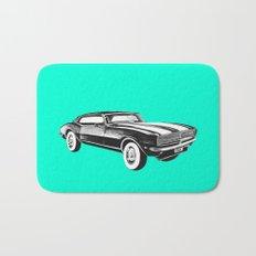 Mustang Car Bath Mat