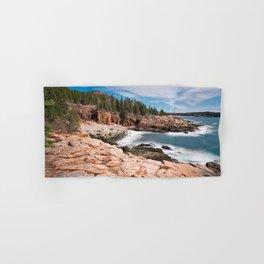 Acadia National Park - Thunder Hole Hand & Bath Towel