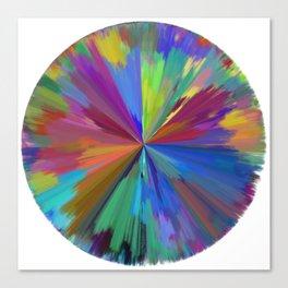 color wheel 01 Canvas Print
