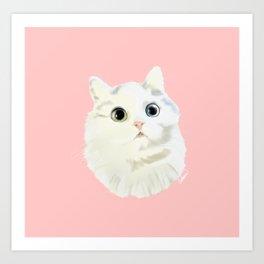 Cute Kitten Art Print
