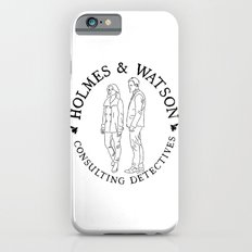 holmes and watson stamp Slim Case iPhone 6s