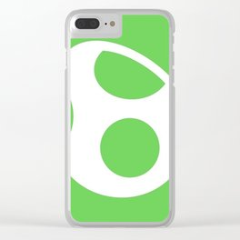 Green Egg Clear iPhone Case