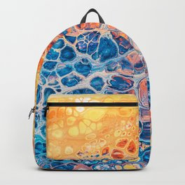 The Bright Side #abstract #digitalart Backpack