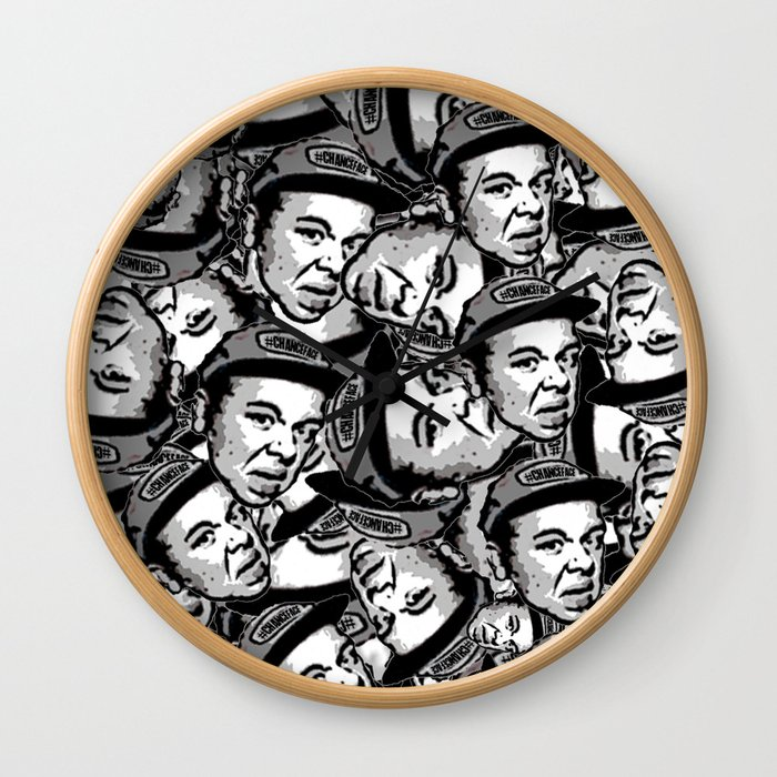 #CHANCEFACE Wall Clock