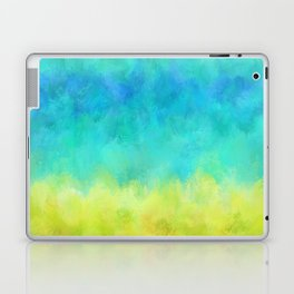 Sunflower and Ice Abstract Laptop & iPad Skin