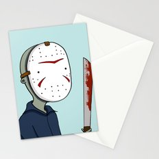Adventure Time with Jason Voorhees Stationery Cards