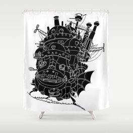 Howl's moving castle. Shower Curtain