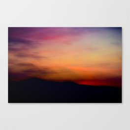 Afterglow II Canvas Print