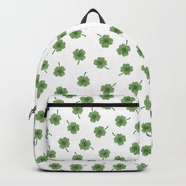 Light Green Clover Backpack