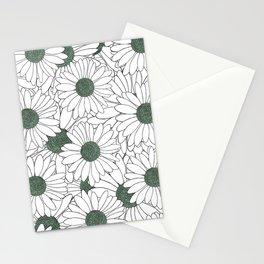 Daisy Mint Stationery Cards