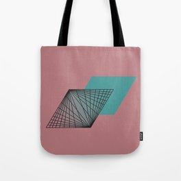 Triangular Grid - Sacred Geometry Tote Bag