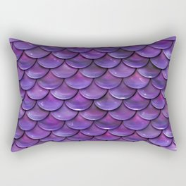 Reflection of the purple moon Rectangular Pillow