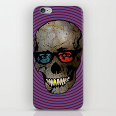 Life Seems Much More Exciting For Skullboy Since He Got A New Pair Of Glasses iPhone & iPod Skin