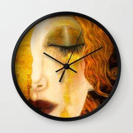 Freya's Golden Tears Viking Lore Wall Clock