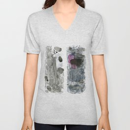 Rain with hope of clearing Unisex V-Neck