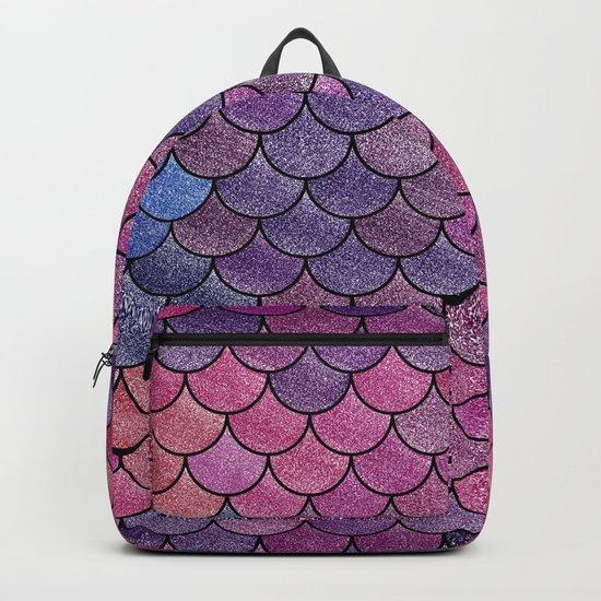 Lovely Pattern V (Glitter Version) Backpack