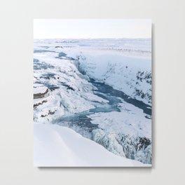 Gullfoss - Iceland Metal Print