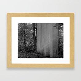 Four. Framed Art Print