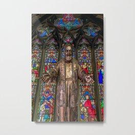 Saint Pio Metal Print