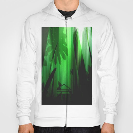 Deep in the rain forest. Hoody