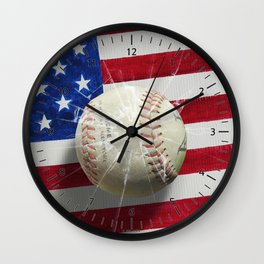 Baseball - New York, New York Wall Clock