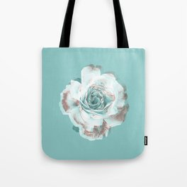 She promised she'd dance with me if I brought her a red rose. Tote Bag
