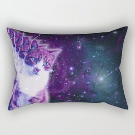 Galaxy Catz Rectangular Pillow