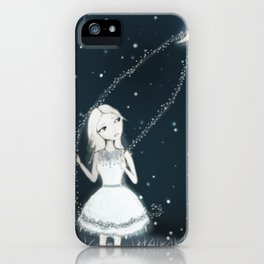 Lasso The Moon iPhone Case