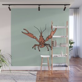 Mr. Crawfish Wall Mural