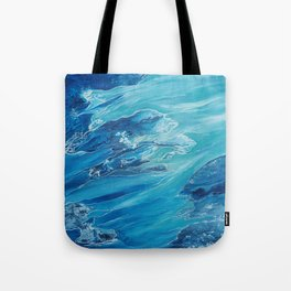 Two Worlds Collide Tote Bag