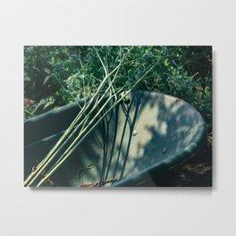Gardening Day Metal Print