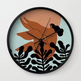 Catching the sun Wall Clock