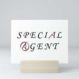 The Special Agent Mini Art Print