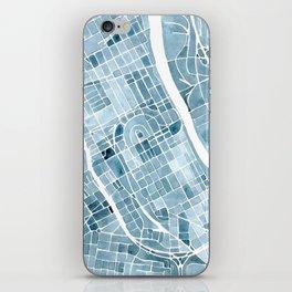 Map Nashville Tennessee Blueprint City Map iPhone Skin