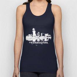 I Am Dayton - Castle City - White Unisex Tank Top