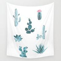 desert Wall Tapestries featuring Desert by Annet Weelink Design