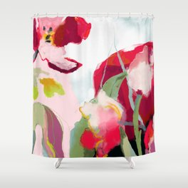 abstract bloom Shower Curtain