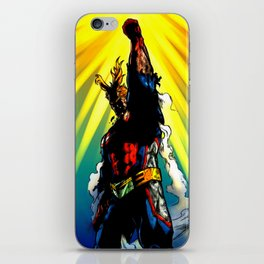 THE SYMBOL OF PEACE - ALL MIGHT iPhone Skin