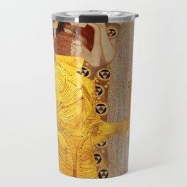 The Golden Knight - Gustav Klimt Travel Mug